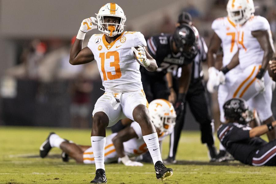 Full Transcript: Vols OLB Deandre Johnson Missouri week avail