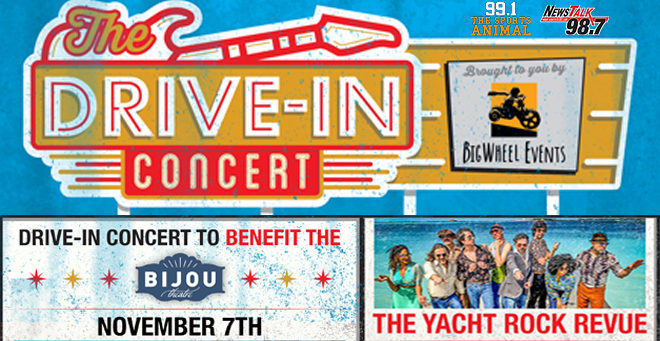 Drive In-Concert to Benefit Bijou Theatre