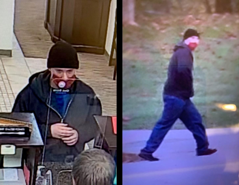 Oak Ridge Bank Robbery Suspect