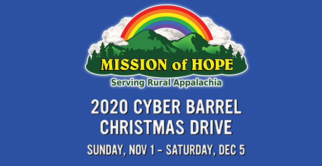 Mission of Hope Cyber Barrel Christmas Drive