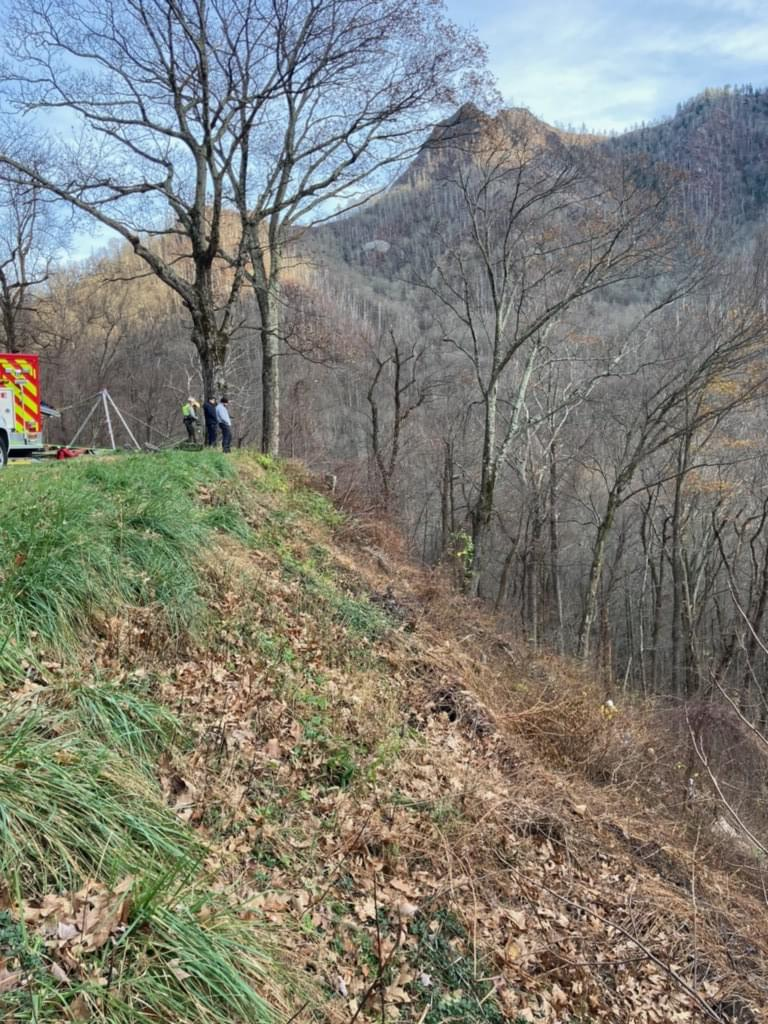 Fatal Accident at an Overlook in Great Smoky Mountains National Park