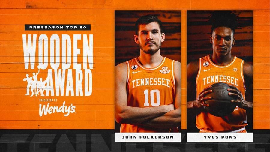 Pons, Fulkerson Both Named to Wooden Watch