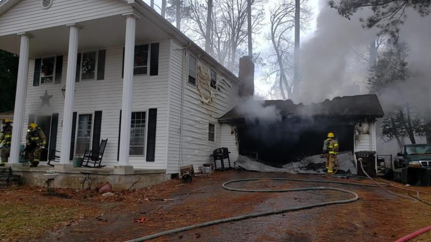 Family Pets are Lost in House Fire