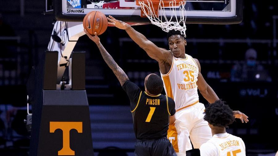 Vols Lose Second Straight Game, Fall to Missouri 73-64