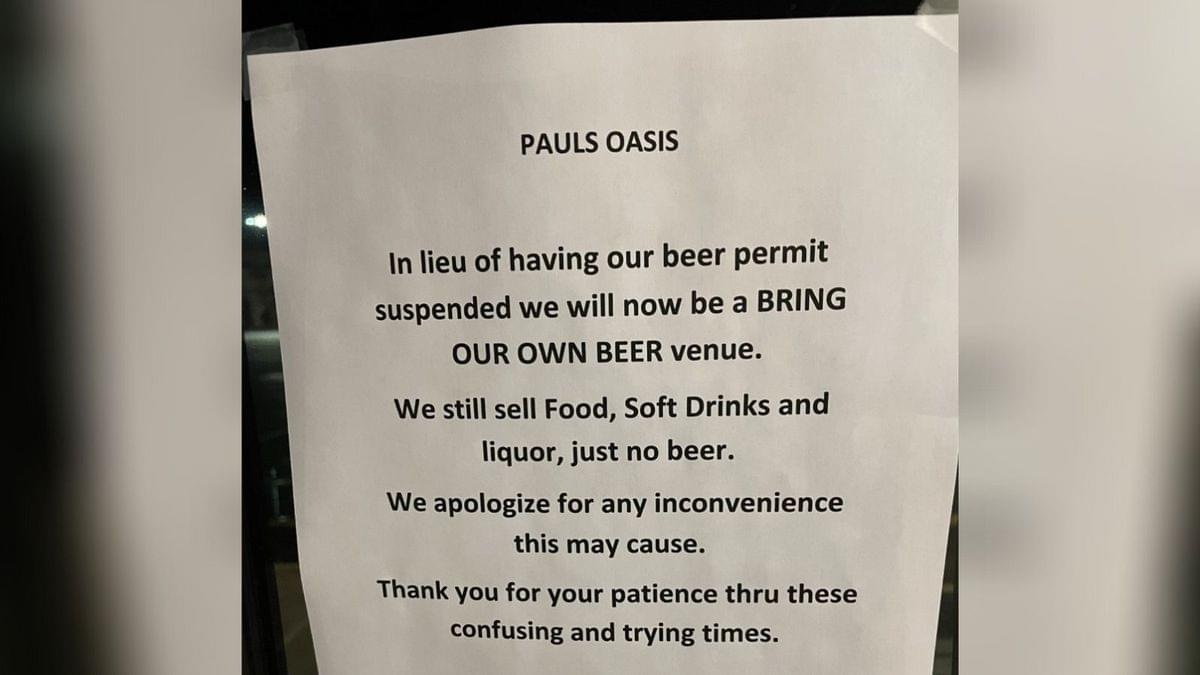 A Knoxville Business Which Had it's Beer License Suspended Goes BYOB