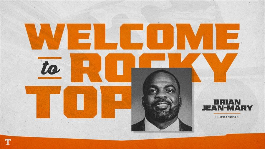 Brian Jean-Mary Named Tennessee Linebackers Coach