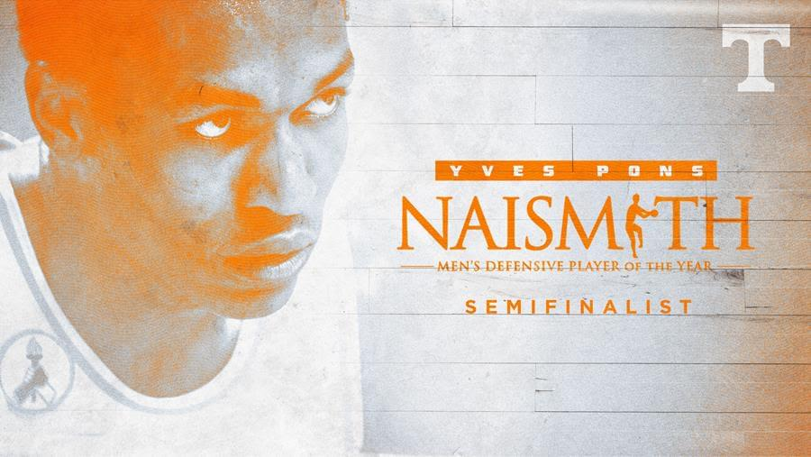 Pons Named Semifinalist for Naismith Defensive Player of the Year