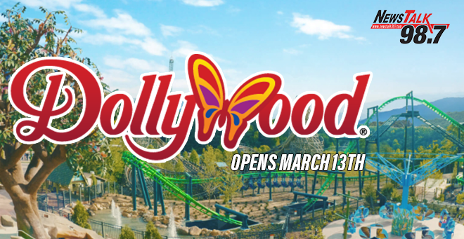 Dollywood Opens March 13th