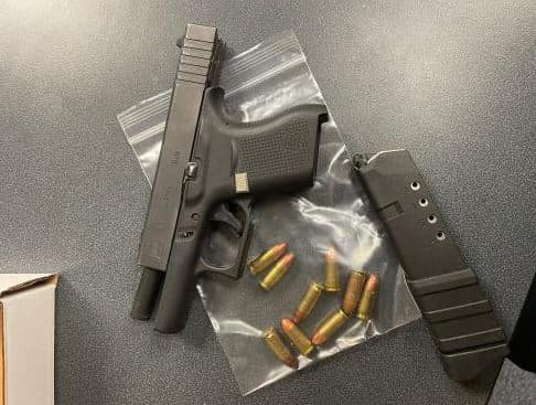 KPD Confiscates Multiple Guns During Traffic Stops