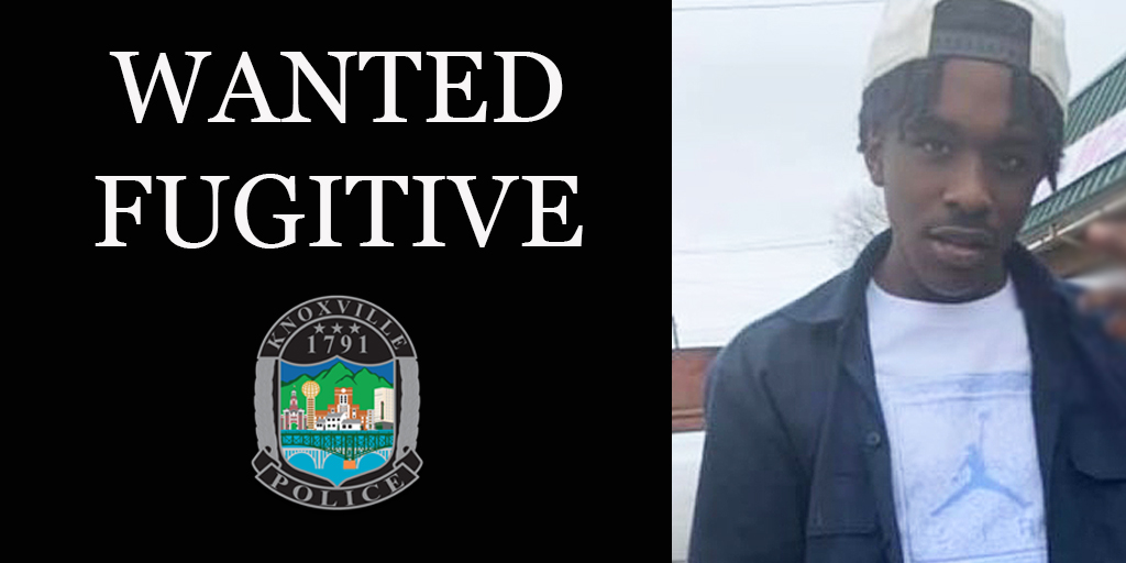 Knoxville Police Need Your Help to Find a Fugitive Wanted on Outstanding Felony Warrants