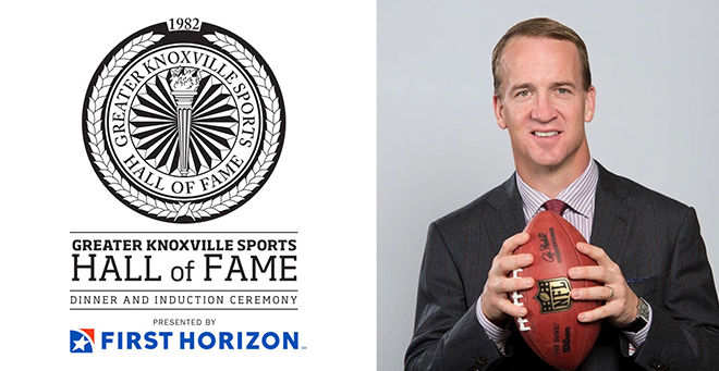 40th Annual Greater Knoxville Sports Hall of Fame Dinner & Induction Ceremony featuring Peyton Manning