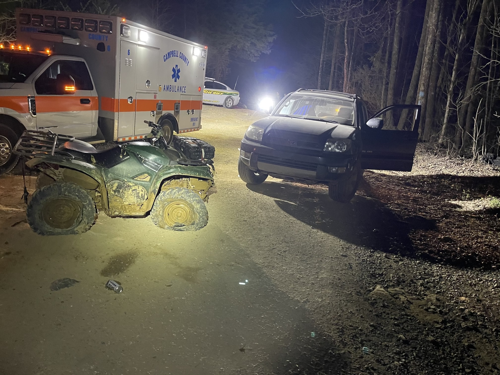 TWRA Investigating a Serious ATV Accident in Cumberland County Involving a Knoxville Man