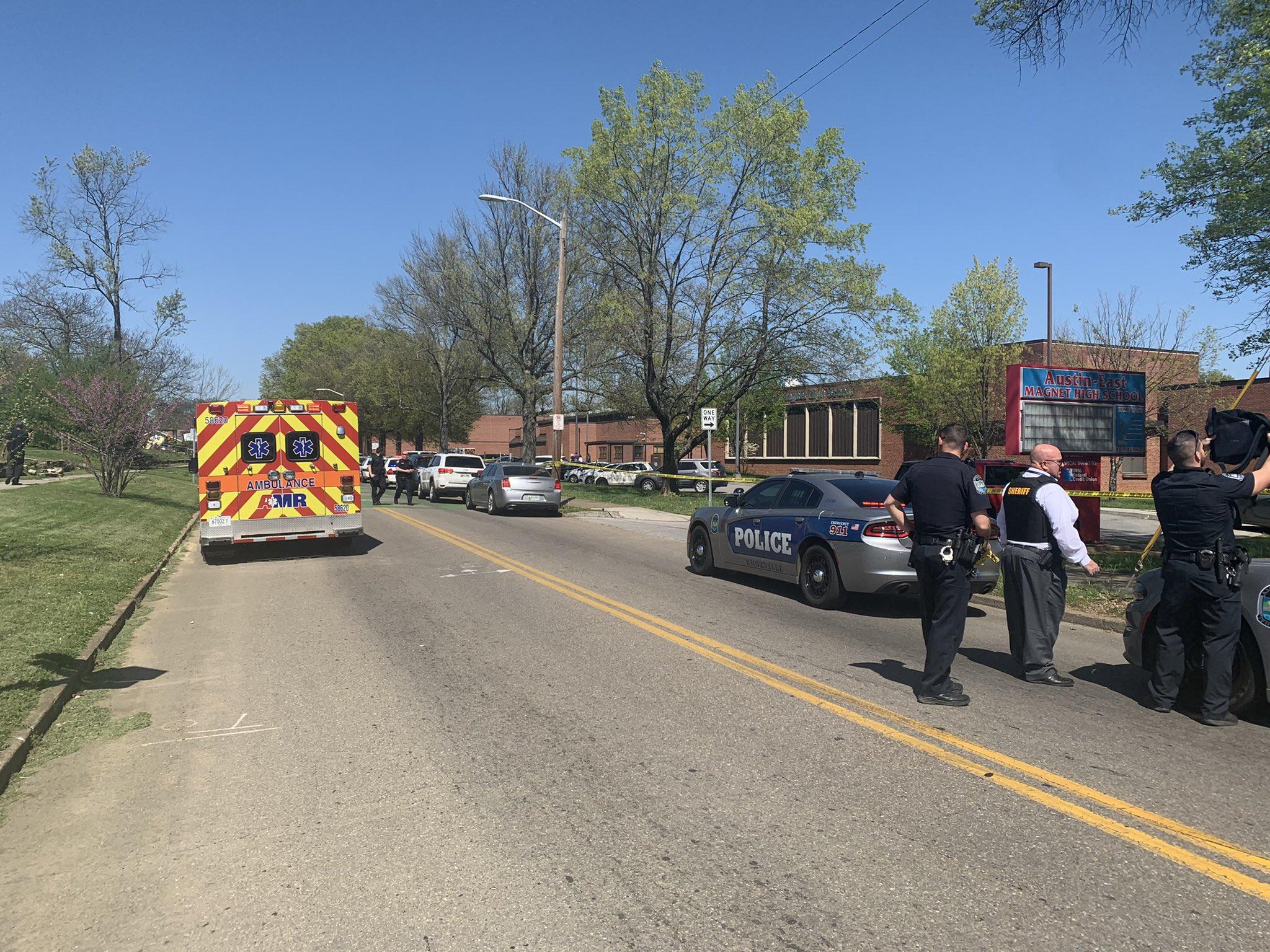 Update: Shooting at Austin East High School