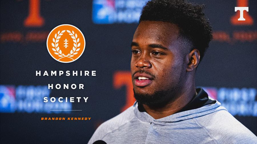 Brandon Kennedy Named to NFF Hampshire Honor Society