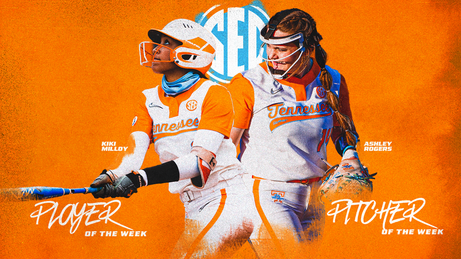 Milloy and Rogers Earn SEC Weekly Awards