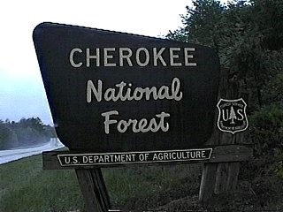 Fire Crews Containing Two Fires in Cherokee National Forest