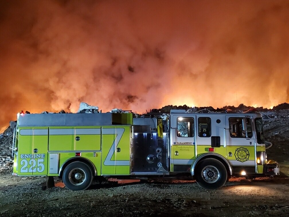 Two Firefighter's Hurt After East Knox Co. Fire