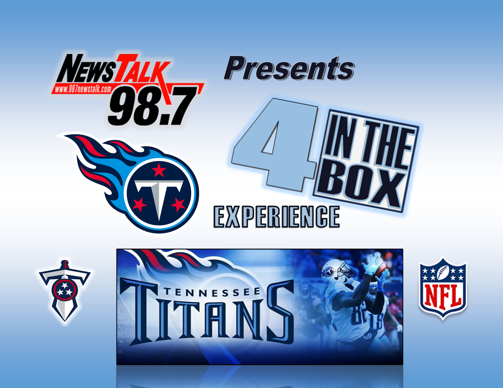 4 in the Box Tennessee Titans Experience