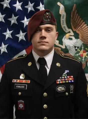 East Tennesseeans Honor Fallen Army Staff Sgt. Ryan Knauss as He Returns to Knoxville