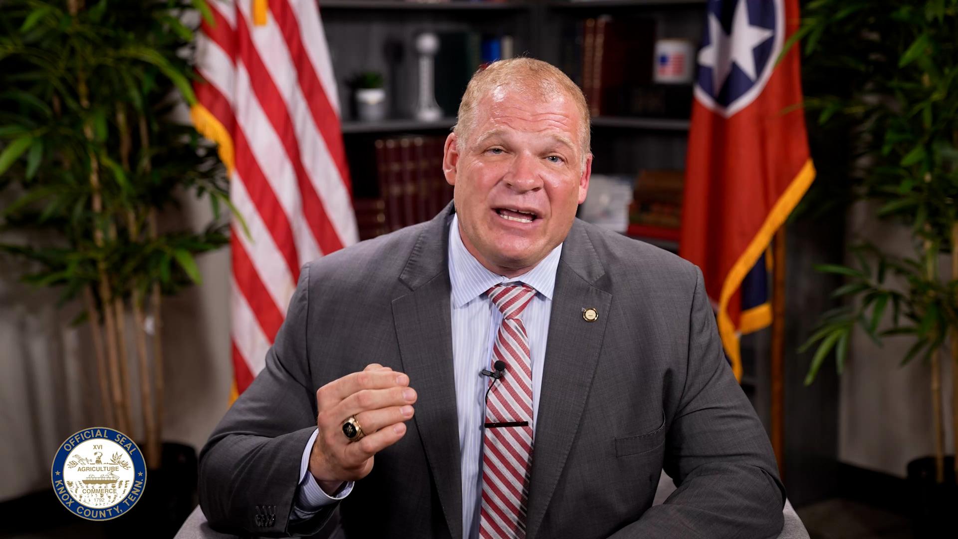 Knox County Mayor Speaks Out Against School Mask Mandates