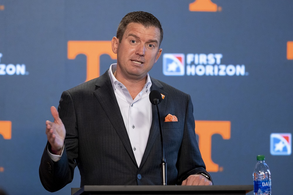 Statement from Tennessee Director of Athletics Danny White on punishment from SEC