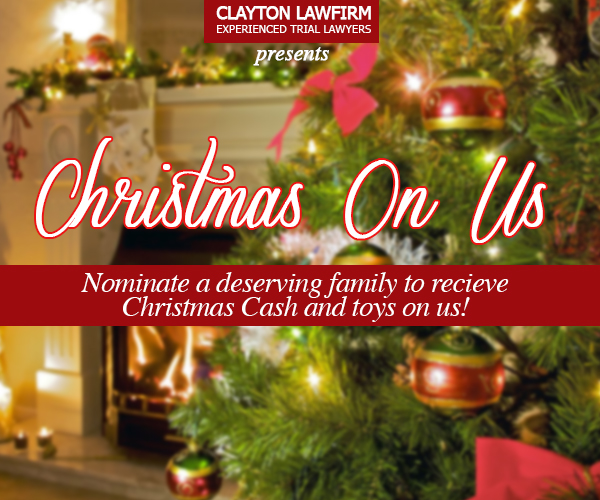 The Clayton Law Firm Presents Christmas on Us