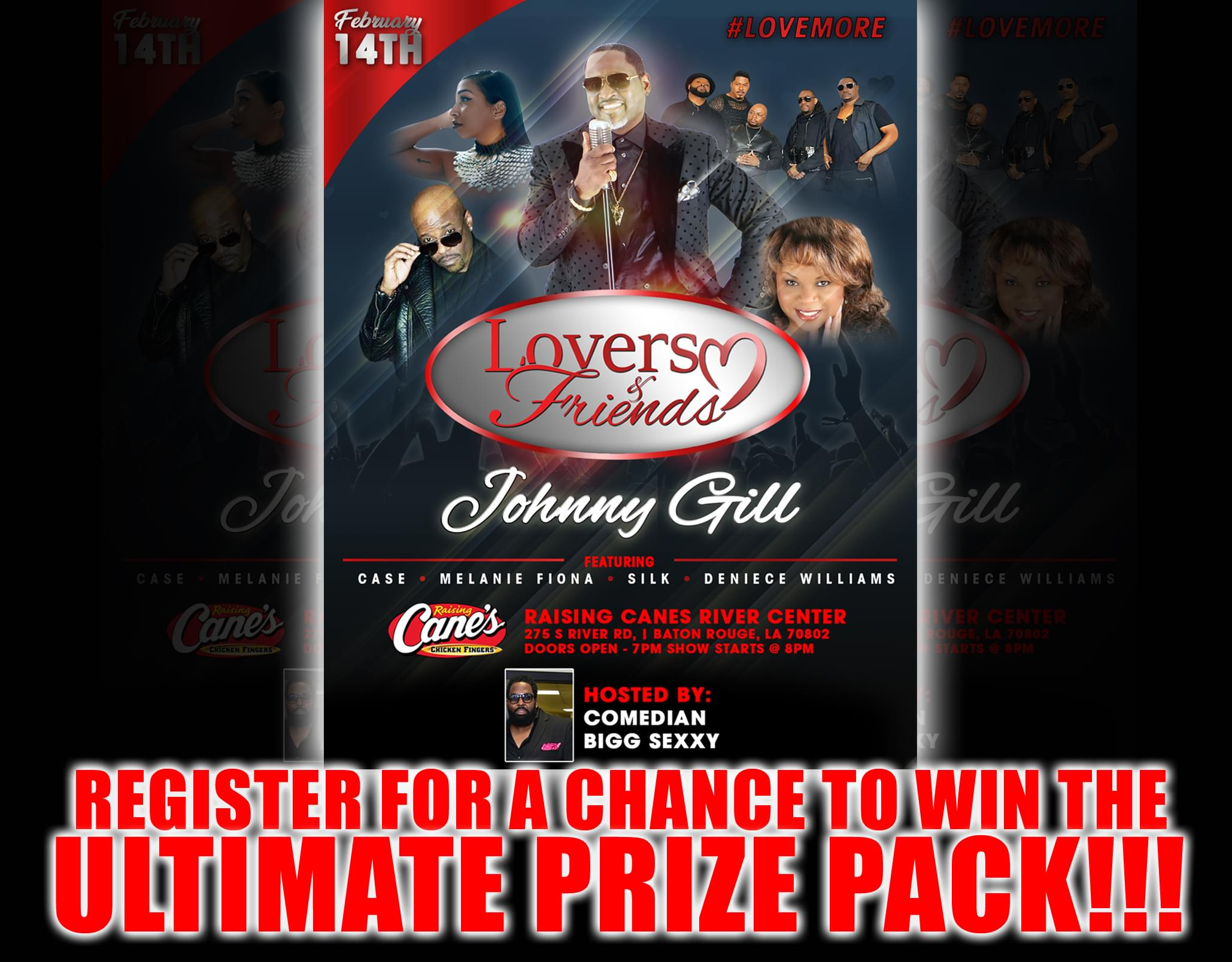 Win Tickets to Lovers & Friends