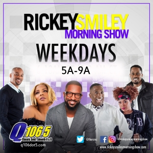 Rickey Smiley Morning Show – Coming January 6, 2020!