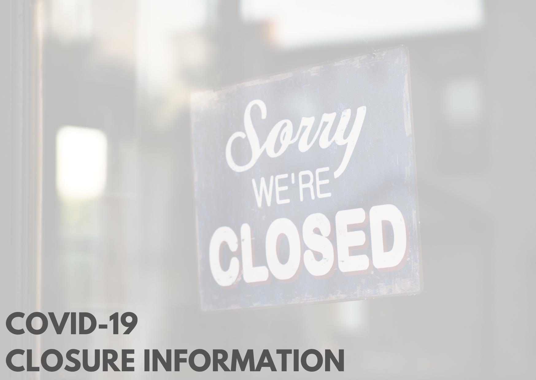 Baton Rouge Closures: COVID-19