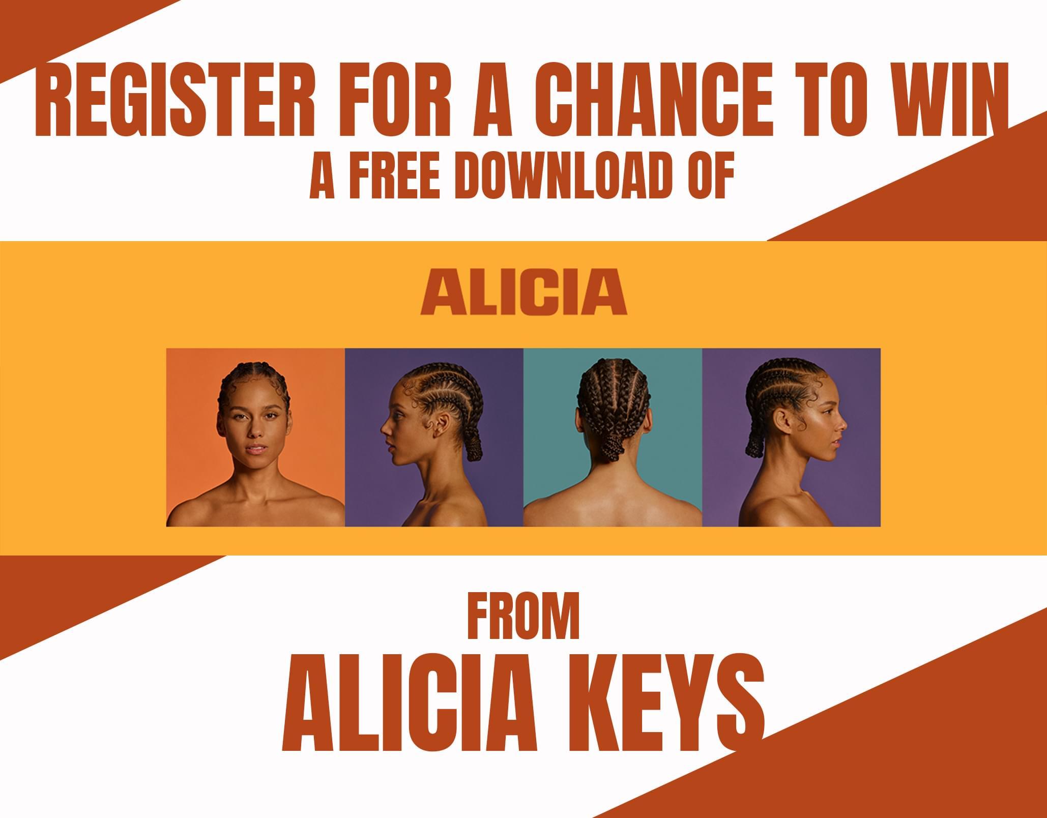 Win Stuff: Alicia Key's New Album!
