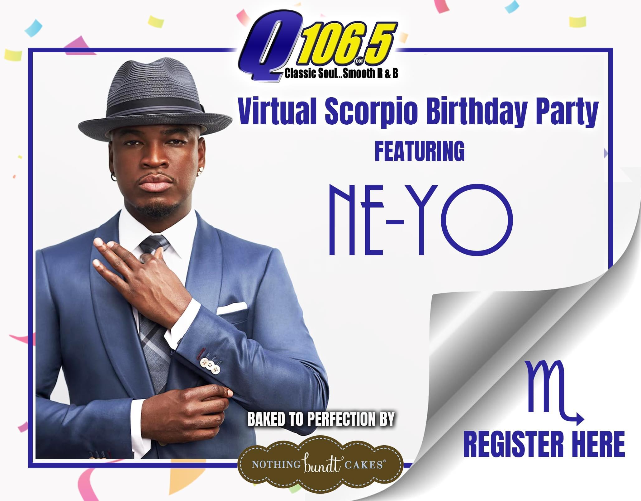 Virtual Scorpio Birthday Party