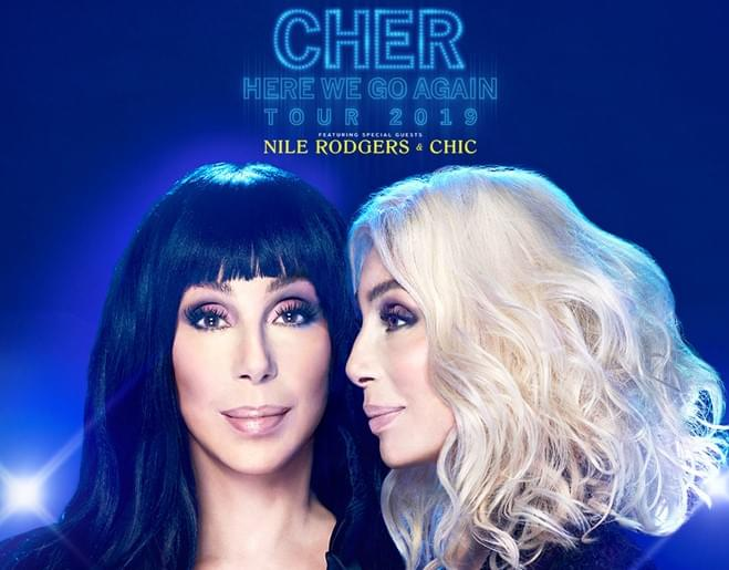 Call in to Win CHER Tickets