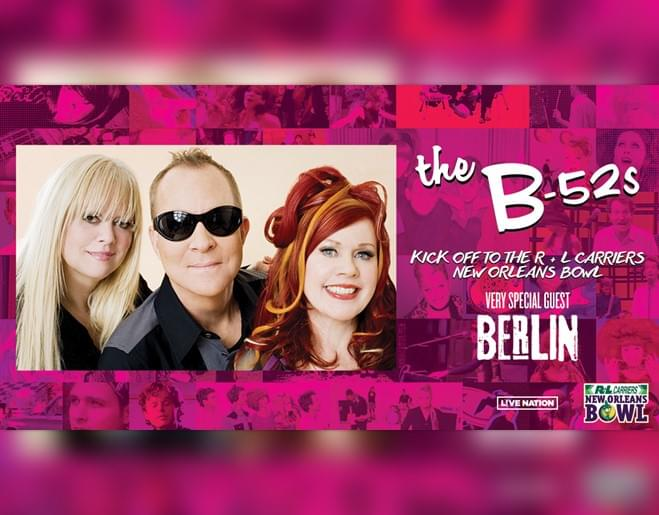 Win Tickets to see The B-52's