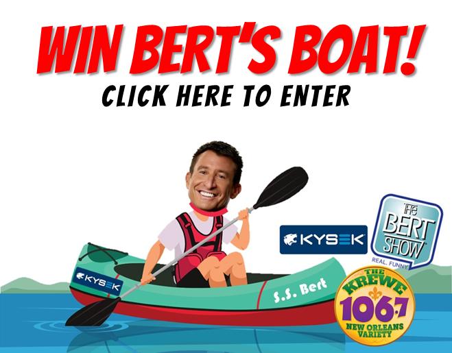 Win Bert's Boat