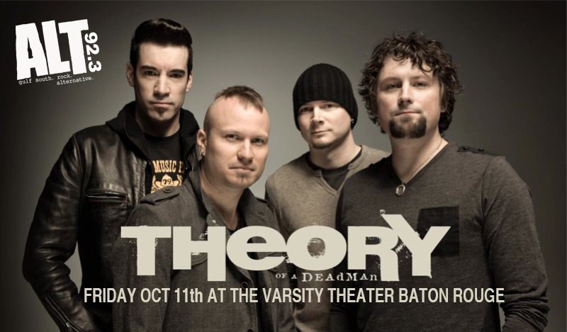 ALT 92.3 Presents Theory of a Deadman