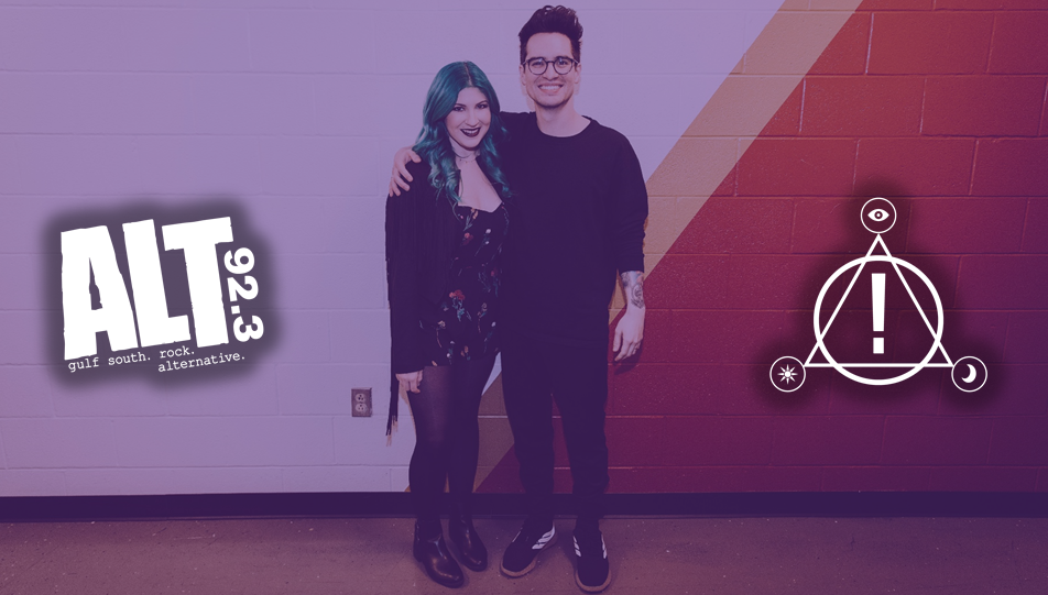 LISTEN: Ashley O interviews Brendon Urie of Panic! At The Disco