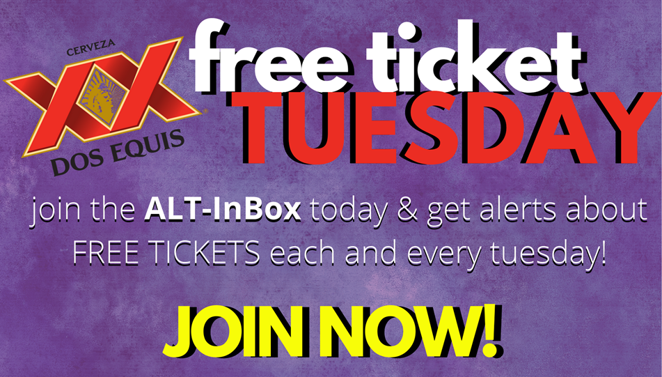 Dos Equis FREE TICKET Tuesday