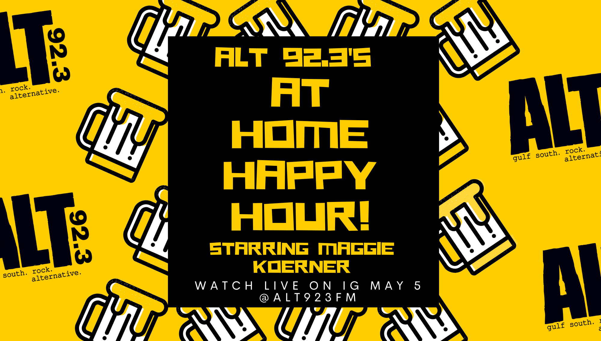ALT Home Happy Hour with Maggie Koerner!