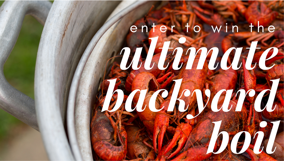 Win the Ultimate Backyard Boil