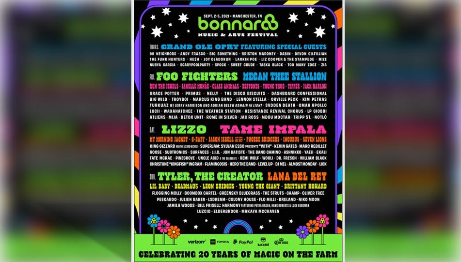 Bonnaroo is Back! – Bonnaroo 2021