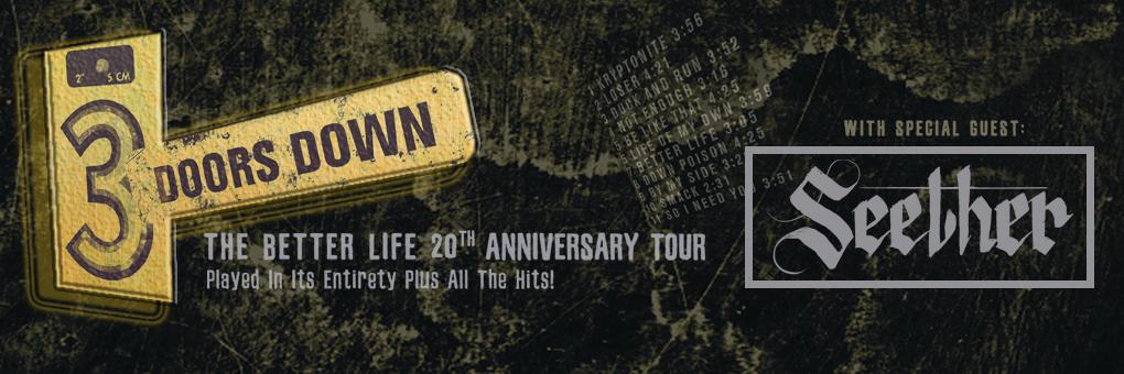 Big Fuzz Friday | Win 3 Doors Down Tickets