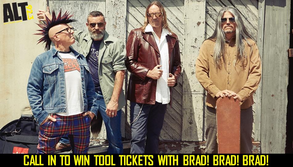 Win TOOL Tickets with brad!brad!brad!