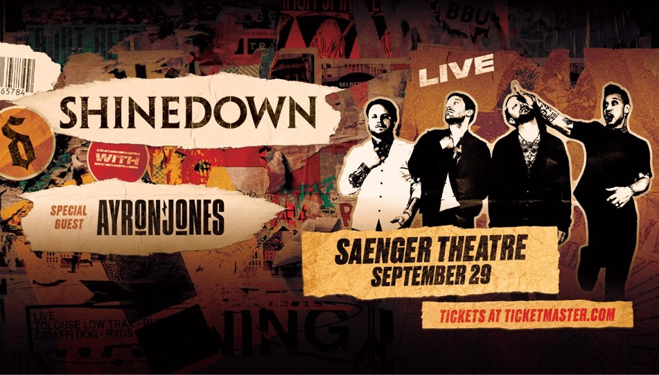 Win SHINEDOWN tickets with Daniel Merry!