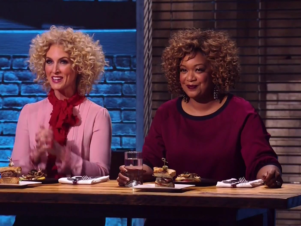 "Watch Little Big Town's Kimberly Schlapman Get Competitive on ""Beat Bobby Flay"""