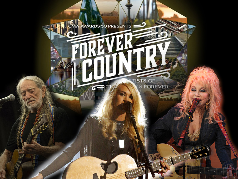 """Listen to 30 Country Stars Join Forces to Sing """"Forever Country"""" in Honor of 50th CMA Awards"""