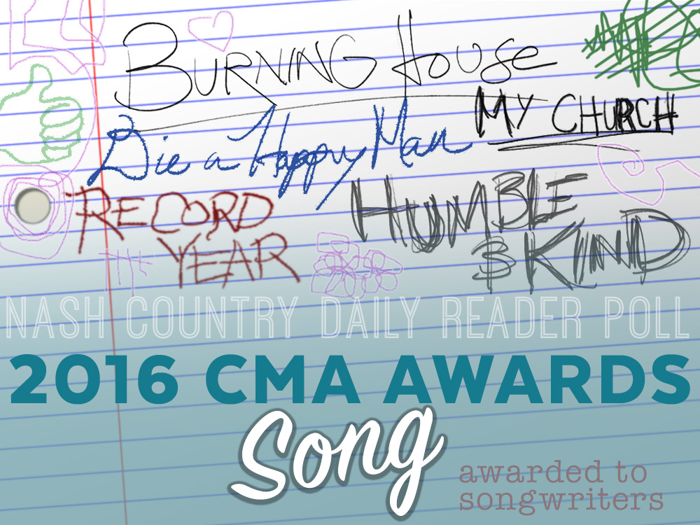Vote Now: Who Should Win the CMA Song of the Year Award