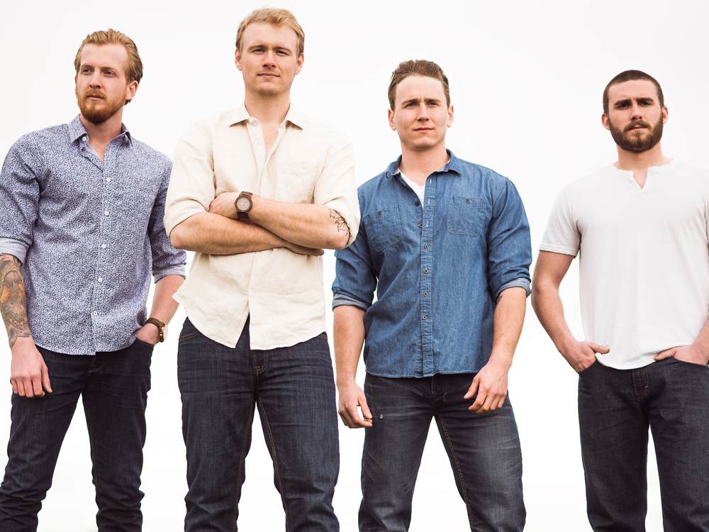 """Exclusive Premiere: Listen to the James Barker Band's Live-in-the-Moment New Single, """"Just Sayin'"""""""