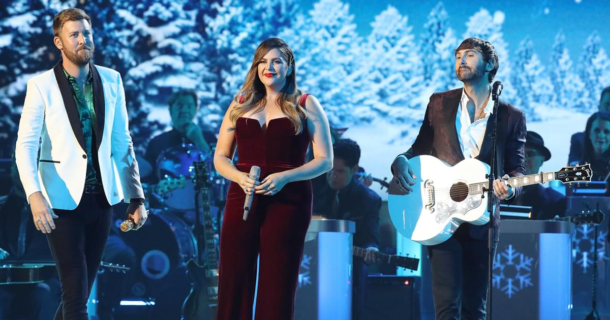 """Listen to Lady A's New Rendition of """"Wonderful Christmastime"""" From Deluxe Holiday Album"""
