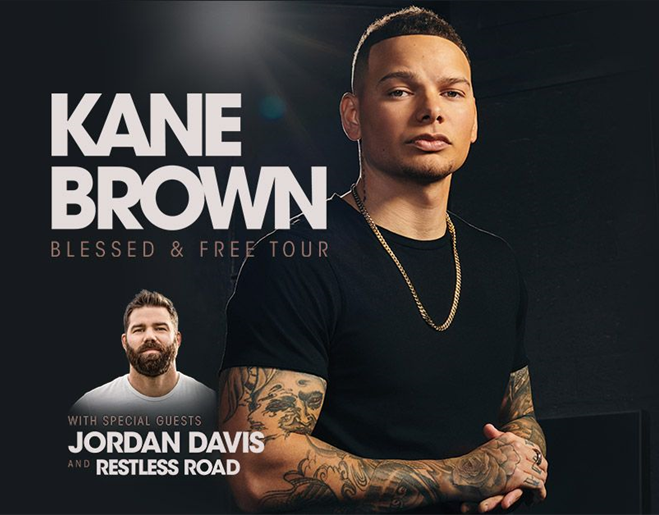 Kane Brown: Blessed & Free Tour – Enter to Win Tickets!