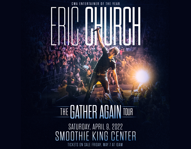Win Tickets to Eric Church: The Gather Again Tour
